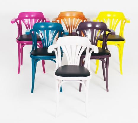Ensemble de 6 chaises bistro