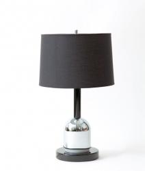 Lampe en chrome vintage 1970