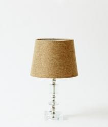 Lampe en verre vintage 1960