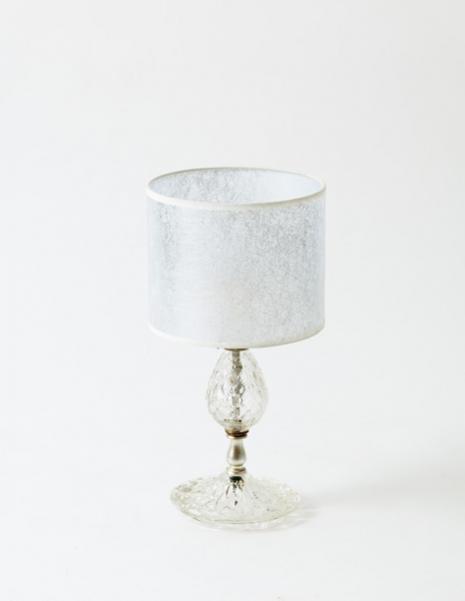Lampe en verre vintage 1960.